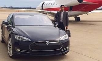 desperete housewives star jesse metcalfe takes on a tesla model s