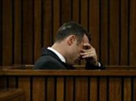 oscar pistorius trial: how the blade runner's body language reveals how court case is taking its toll