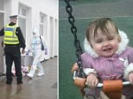 Woman, 29, and man, 41, arrested on suspicion of manslaughter after two-year-old girl died of reported heart attack at Blackpool home