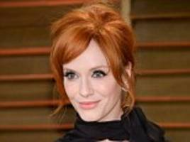 Christina Hendricks reveals Mad Men beauty secrets in Redbook