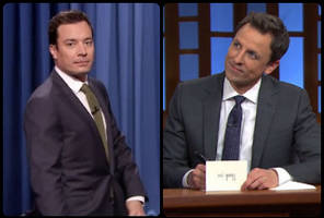 late night ratings watch: fallon stays in 1st place, meyers starts strong