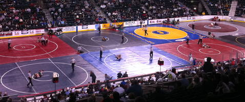 2 jefferson falcons eye wrestling titles at state tournament