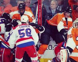 Wild Hockey Brawl Between Flyers, Capitals (Video)