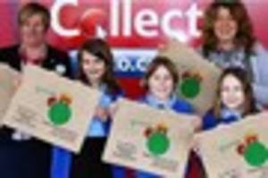 Lottie's talent bags St Benedict's Catholic Primary School a...